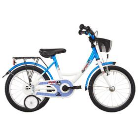 Vermont Capitaine - Vélo enfant 16 pouces - blanc/bleu